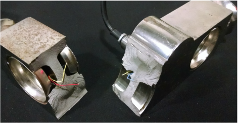 damaged load cell repair